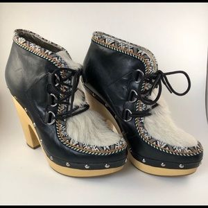 Eskimo Clog Booties Belle by Sigerson Morrison